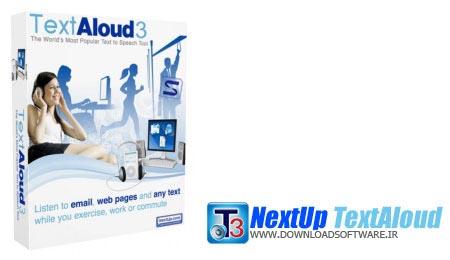 NextUp TextAloud 3.0.67 + Portable – تبدیل حرفه ای متون به صدا