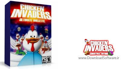 Chicken Invaders بازی chicken invaders christmas edition 4 مرغهای مهاجم