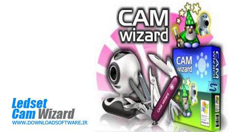 Ledset Cam Wizard تبدیل وب کم به دوربین مدار بسته با Ledset Cam Wizard v10.