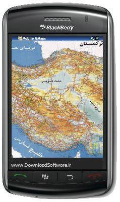 دانلود نقشه شهرهای ایران با فرمت جاوا