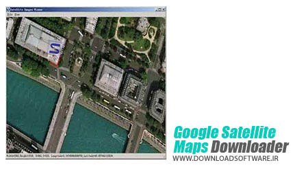 دانلود نقشه های ماهواره گوگل Google Satellite Maps Downloader v6.998