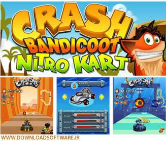 دانلود بازی بسیار زیبا و جذاب Crash Nitro Kart 2 جاوا