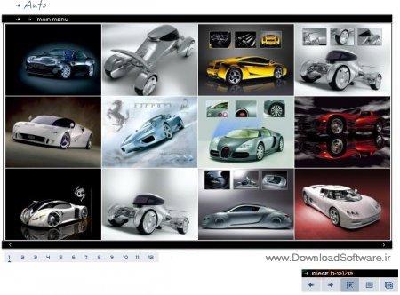دانلود ماژول گالری تصاویر برای دیتالایف انجین Gallery Module for DLE