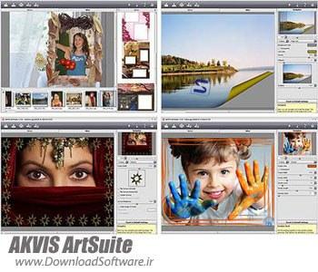 AKVIS ArtSuite 9.5.2459.9567 – پلاگین ویرایش و روتوش عکس