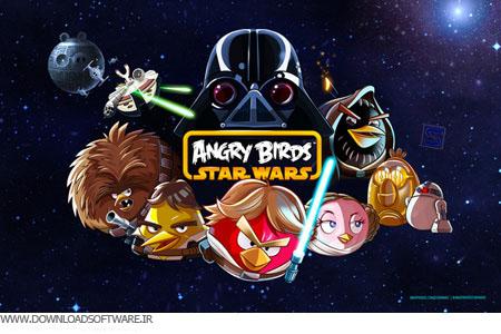 بازی پرندگان خشمگین جنگ ستارگان Angry Birds Star Wars 1.5.0 برای کامپیوتر