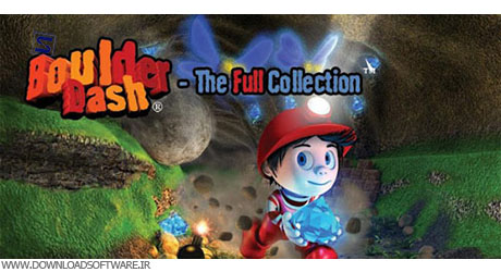 BoulderDash® TheFullCollection بازی اکشن BoulderDash® TheFullCollection v1.4.4   اندروید