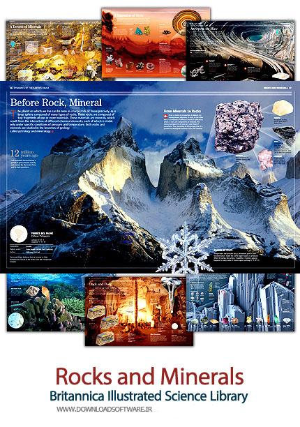 کتاب مصور سنگ ها و مواد معدنی