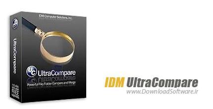 IDM UltraCompare Pro 17.00.0.21 + Portable – مقایسه دو فایل