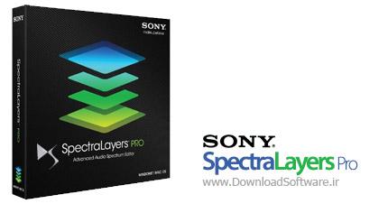 Sony SpectraLayers Pro 2.1.32 ویرایش فایل صوتی