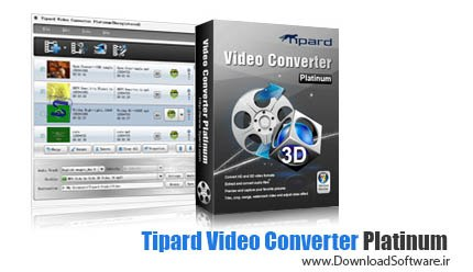 Tipard Video Converter 8.0.16 + Platinum 6.2.38 + Ultimate 9.2.18 + Portable – مبدل ویدئویی