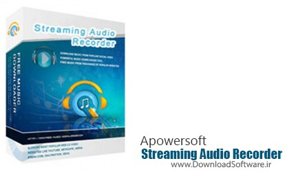 Apowersoft Streaming Audio Recorder 3.3.4 – ضبط و دانلود صداهای آنلاین