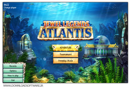 Jewel Legends 2 بازی سرگرم کننده Jewel Legends 2: Atlantis