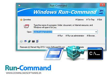 Run-Command 2.71 + Portable x86/x64 – جایگزین مناسب برای Run ویندوز