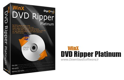 WinX DVD Ripper Platinum 7.3.6.117 Build 24.01.2014 – مبدل DVD