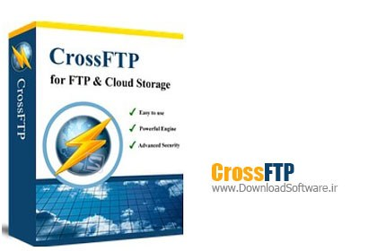 CrossFTP Professional 1.94.2 + Portable – مدیریت FTP