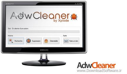 AdwCleaner 6.046 Final + Portable حذف فایلهای اضافی