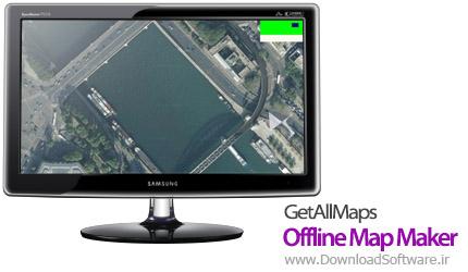 GetAllMaps Offline Map Maker 4.05 ذخیره آفلاین نقشه گوگل ، یاهو ، بینگ