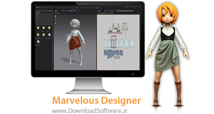 Marvelous Designer 6.5 3.1.22 + 6 Personal Advanced 2.5.96.23433 x86/x64 طراحی لباس