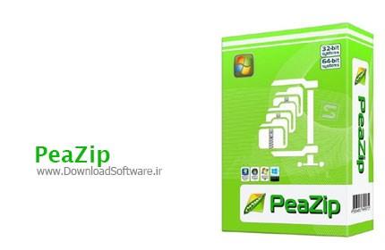 PeaZip 6.4.1 Final فشرده سازی سریع فایل ها و فولدرها