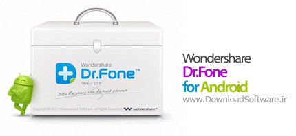 Wondershare Dr.Fone for Android 4.0.0.60 مدیریت اطلاعات اندروید