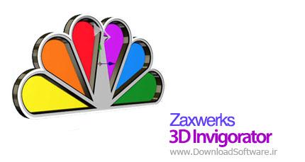 Zaxwerks 3D Invigorator 7.0.1 ساخت اشکال ۳ بعدی برای فتوشاپ