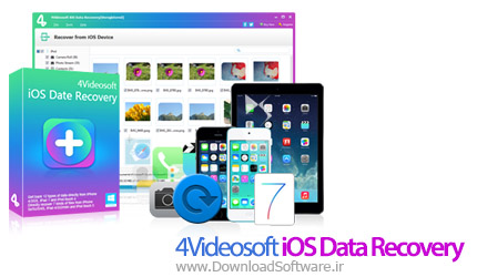۴Videosoft iOS Data Recovery 7.1.6.19634 بازیابی اطلاعات آیفون ، آیپد و آیپاد