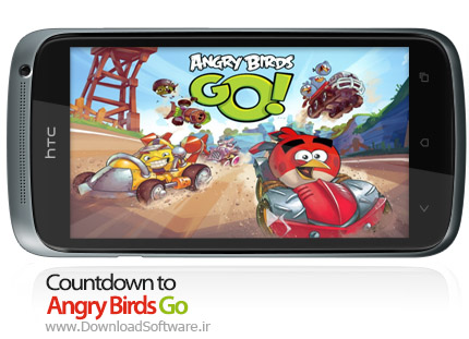 Countdown to Angry Birds Go