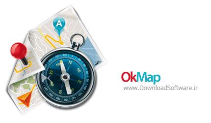 OkMap 13.0.6 جی پی اس رایگان