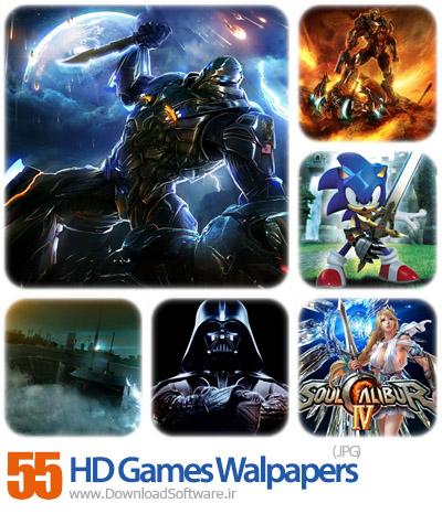 مجموعه ۵۵ والپیپر بازی HD Games Walpapers