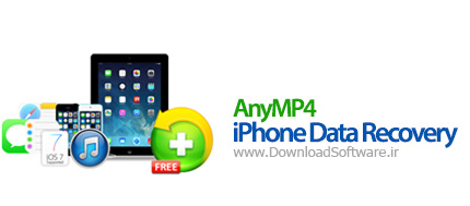 AnyMP4 iPhone Data Recovery 7.1.8.19508 بازیابی اطلاعات آیفون