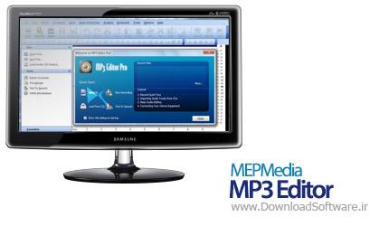Mepmedia Mp3 Editor Pro 6.5.5 ویرایش حرفه ای فایل های صوتی