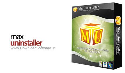 Max Uninstaller 3.8.1.1578 + Portable حذف کامل برنامه ها