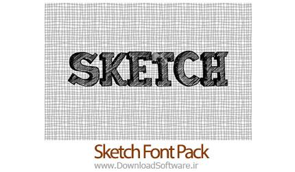 دانلود فونت جدید و زیبای Sketch Font