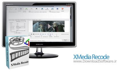 XMedia Recode 3.3.0.9 + Portable مبدل مالتی مدیا