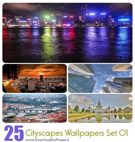 Cityscapes Wallpapers Set 01 مجموعه اول از تصاویر شهرها
