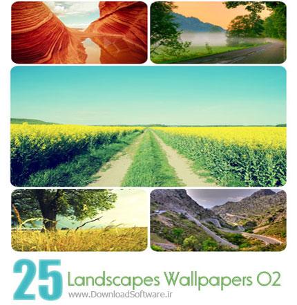 Landscapes Wallpapers Set 02 مجموعه دوم از تصاویر زیبا از مناظر