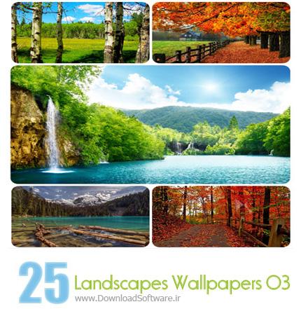 Landscapes Wallpapers Set 03 مجموعه سوم از تصاویر زیبا از مناظر