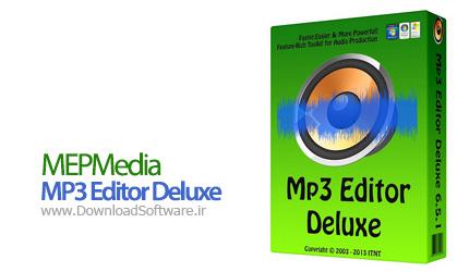 MEPMedia MP3 Editor Deluxe 6.5.5 – ویرایشگر قوی فایل صوتی
