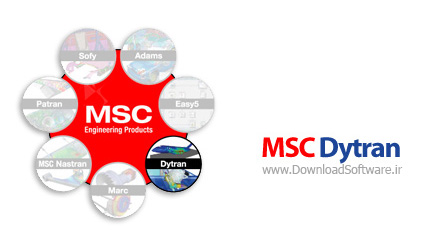 MSC Dytran 2013 – تحلیل مدل های پیچیده غیر خطی