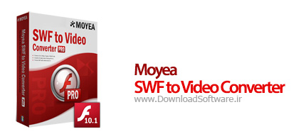 Moyea SWF to Video Converter Pro 4.2.0.0 تبدیل فلش به دیگر فرمت های ویدئویی