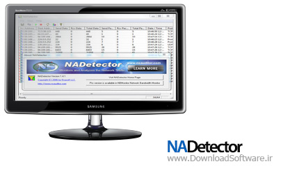 NADetector 1.5.3 Final نظارت بر ترافیک شبکه