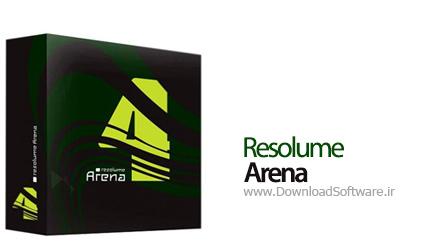 وب آبی | Resolume Arena 5 1 4 – نرم افزار VJ، قابل استفاده