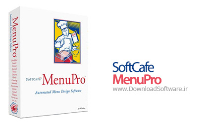 SoftCafe MenuPro 10.00.0004 طراحی منو