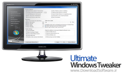 Ultimate Windows Tweaker 3.1.0.0 for Windows 8 تغییر چهره ویندوز