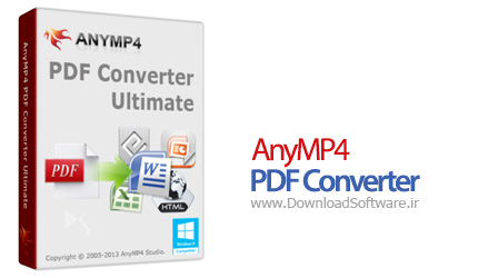 AnyMP4 PDF Converter Ultimate 3.3.18 تبدیل PDF به فرمت های مختلف