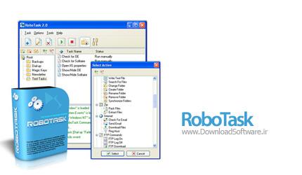 RoboTask 5.8.0.832 Business / Personal انجام اتوماتیک کارها