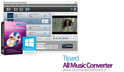 Tipard All Music Converter 7.1.50 – مبدل فایلهای صوتی