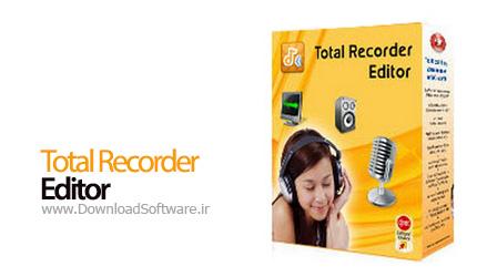 Total Recorder Editor Pro 14.0.1 ضبط و ویرایش فایل های صوتی