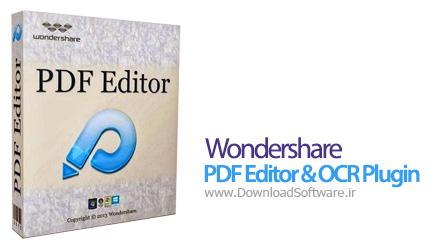 Wondershare PDF Editor & OCR Plugin 3.6.5.2 ابزار کار با پی دی اف