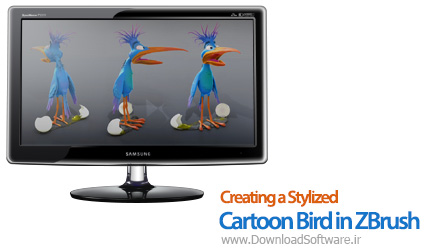 Creating-a-Stylized-Cartoon-Bird-in-ZBrush